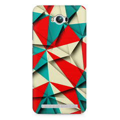 Brown and white textured  Asus Zenfone Max printed back cover