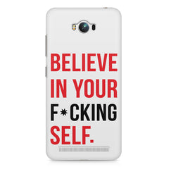 Believe in your Self Asus Zenfone Max printed back cover