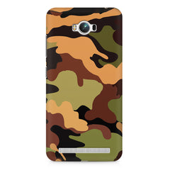 Camoflauge design Asus Zenfone Max printed back cover