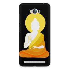 Buddha abstract painting    Asus Zenfone Max hard plastic printed back cover