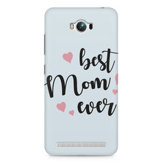 Best Mom Ever Design Asus Zenfone Max hard plastic printed back cover