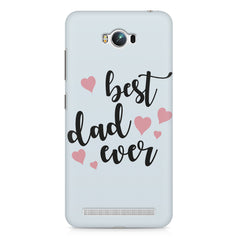 Best Dad Ever Design Asus Zenfone Max hard plastic printed back cover