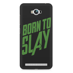 Born to Slay Design Asus Zenfone Max hard plastic printed back cover