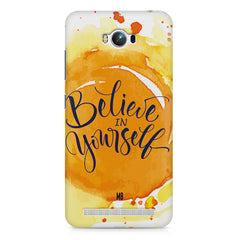 Believe in Yourself Asus Zenfone Max hard plastic printed back cover