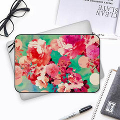 Floral  design,  Both side printed Laptop Sleeves