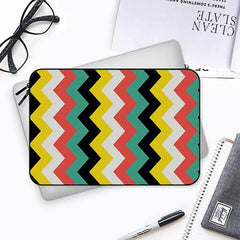 Colourful abstract pattern designBoth side printed Laptop Sleeves
