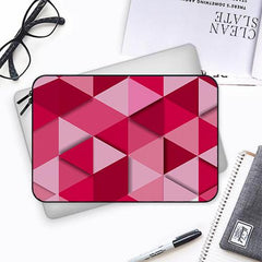 Girly colourful pattern Both side printed Laptop Sleeves