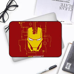 The iron man Both side printed Laptop Sleeves
