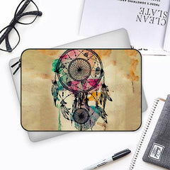 Colourful Dream Catcher designBoth side printed Laptop Sleeves