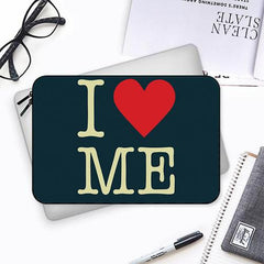 I love myself design Both side printed Laptop Sleeves