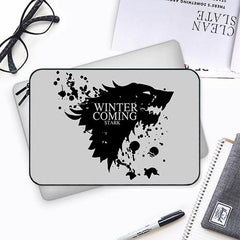 GOT Winter is coming design Both side printed Laptop Sleeves