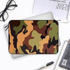 Camouflage military design Both side printed Laptop Sleeves