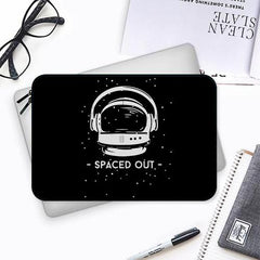 Spaced out by music design Both side printed Laptop Sleeves