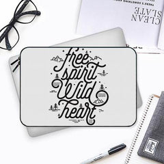 I am a free spirit design Both side printed Laptop Sleeves