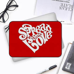 Spread some love design Both side printed Laptop Sleeves