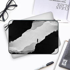 Stand alone- black and white designBoth side printed Laptop Sleeves