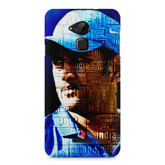 M.S. Dhoni design Coolpad Note 3 printed back cover