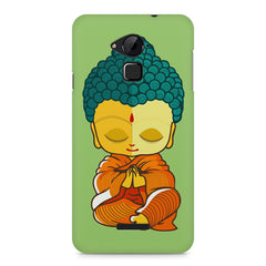 Buddha caricature design Coolpad Note 3 printed back cover