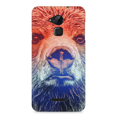 Zoomed Bear Design  Coolpad Note 3 hard plastic printed back cover