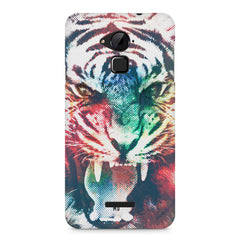 Tiger with a ferocious look Coolpad Note 3 hard plastic printed back cover