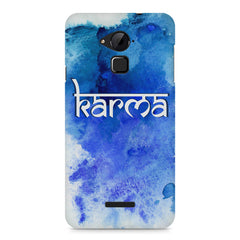 Karma Coolpad Note 3 hard plastic printed back cover
