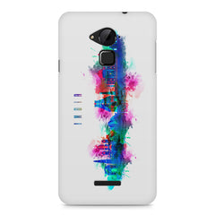 Incredible India Design Coolpad Note 3 hard plastic printed back cover