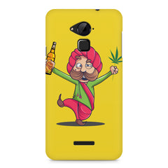 Sardar dancing with Beer and Marijuana  Coolpad Note 3 hard plastic printed back cover