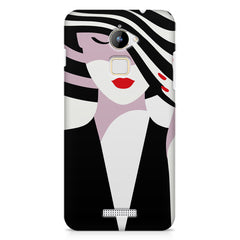 woman  design,  Coolpad Note 3 Lite printed back cover