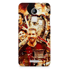 Messi  design,  Coolpad Note 3 Lite printed back cover