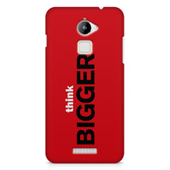 Think Bigger- For Entrepreneurs design,  Coolpad Note 3 Lite printed back cover