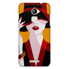 Classy girl  design,  Coolpad Note 3 Lite printed back cover