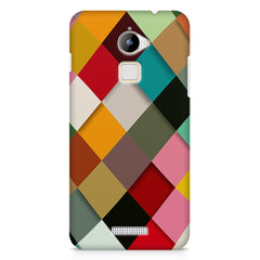 Graphic Design diamonds   Coolpad Note 3 Lite printed back cover