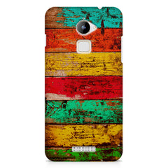 Strips of old painted woods  Coolpad Note 3 Lite printed back cover