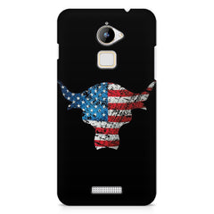 The Rock with flag colors Coolpad Note 3 Lite printed back cover