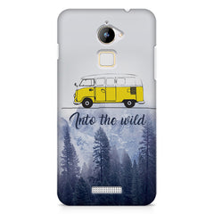 Into the wild for travel Wanderlust people Coolpad Note 3 Lite printed back cover