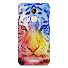 Colourful Tiger Design Coolpad Note 3 Lite hard plastic printed back cover