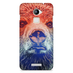 Zoomed Bear Design  Coolpad Note 3 Lite hard plastic printed back cover