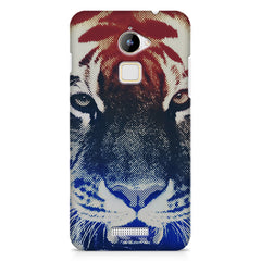 Pixel Tiger Design Coolpad Note 3 Lite hard plastic printed back cover