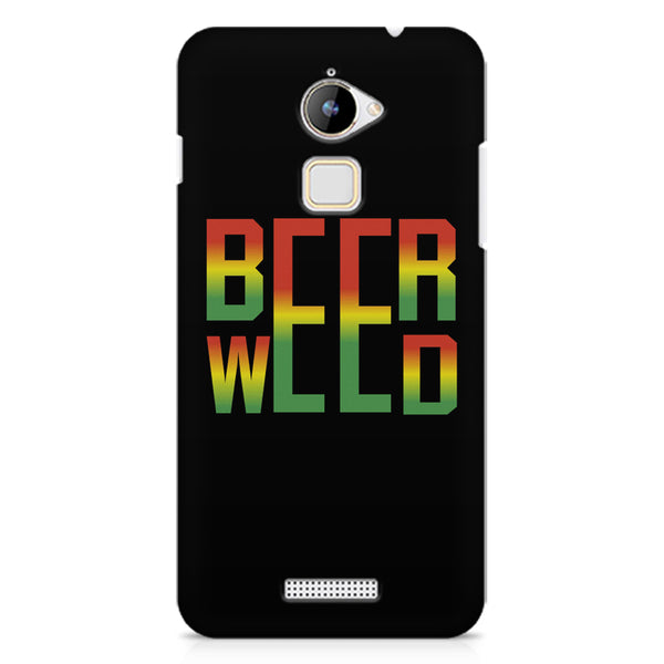 Beer Weed Coolpad Note 3 Lite hard plastic printed back cover