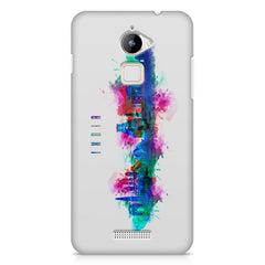 Incredible India Design Coolpad Note 3 Lite hard plastic printed back cover