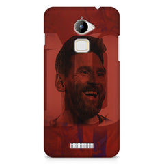 Messi jersey 10 blended design Coolpad Note 3 Lite hard plastic printed back cover