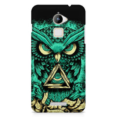 Owl Art design,  Coolpad Note 3 Lite printed back cover