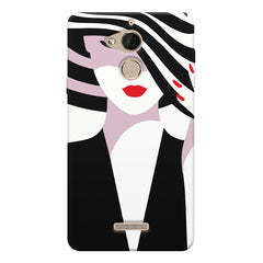 woman  design,  Coolpad note 5 printed back cover