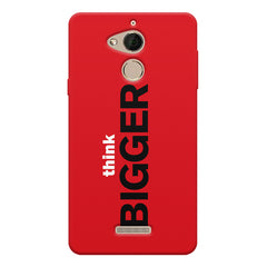Think Bigger- For Entrepreneurs design,  Coolpad note 5 printed back cover