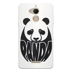 White Panda  design,  Coolpad note 5 printed back cover