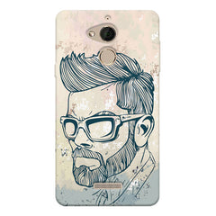Virat Kohli Stylish Abstract Art design,  Coolpad note 5 printed back cover