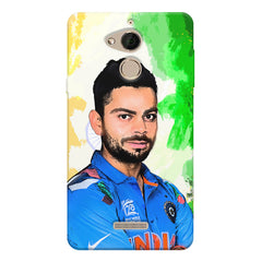 Virat Kohli Oil Painting India design,  Coolpad note 5 printed back cover