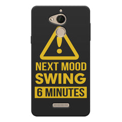Warning for Next mood swing Coolpad note 5 printed back cover