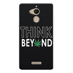 Think beyond weed design Coolpad note 5 printed back cover