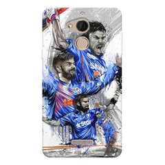 Virat Kohli in his various avatars  design/Indian Cricket legend design   Coolpad note 5 hard plastic printed back cover